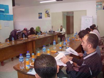 جمعية حنان للثقافة والتنمية المجتمعية تنهي دورة تدريبية بعنوان (كيفية التعامل مع الصدمة النفسية  والاضطرابات  النفسية الناتجة عن العنف)