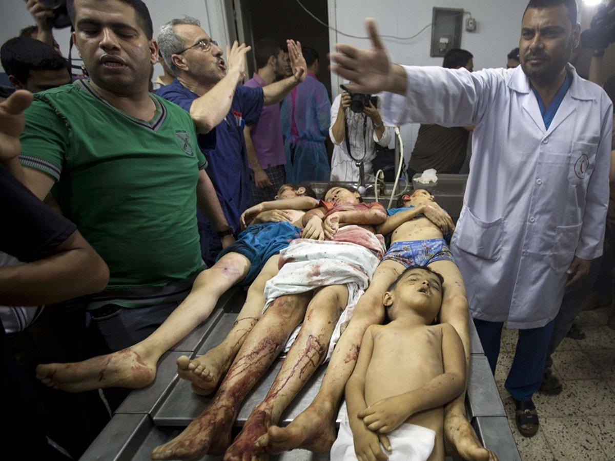 حرب عام 2014 على قطاع غزة
