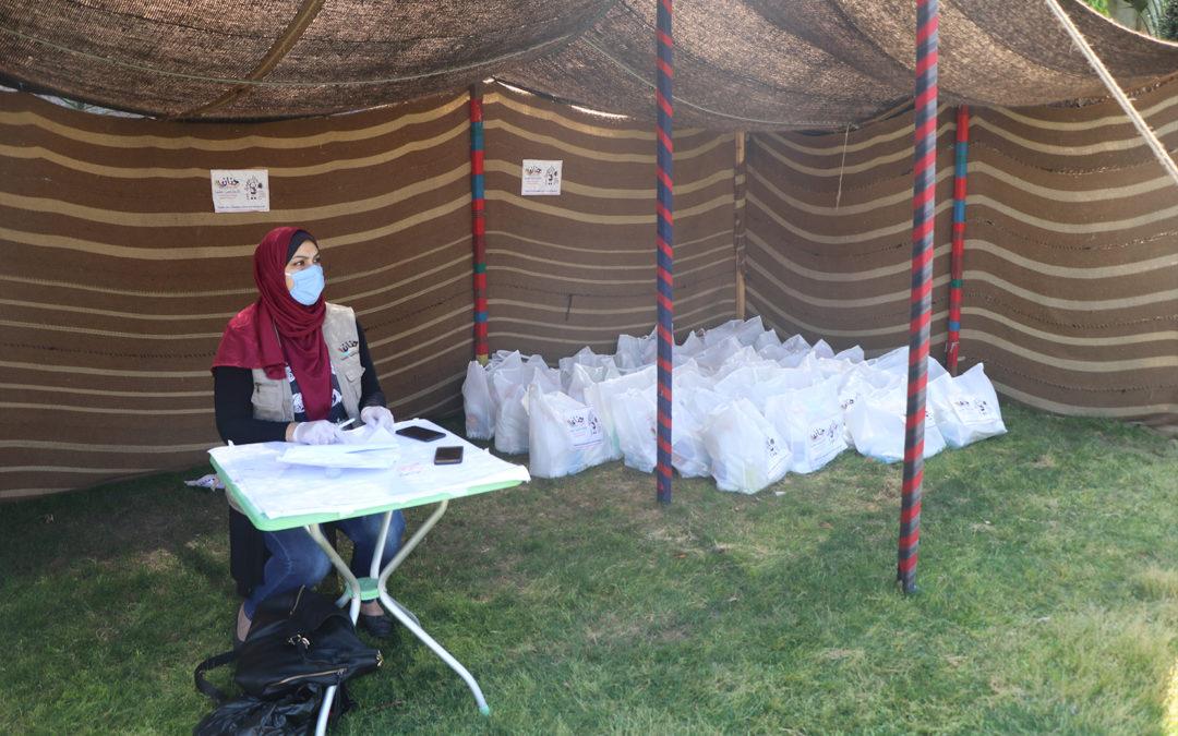 مساعدات طبية بدعم من غزالة كوفيد 19